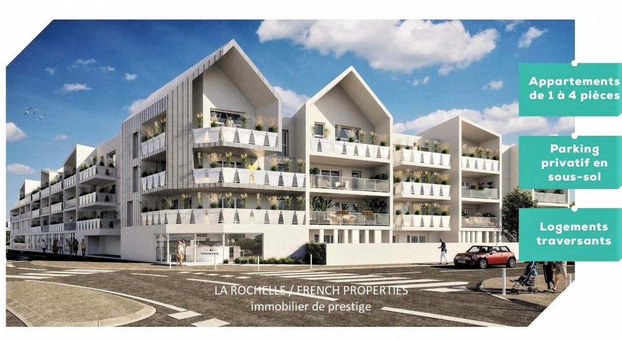 Bien à vendre - Appartement La Rochelle CG-097C